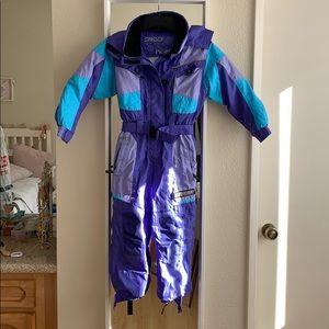 Spyder ski snowsuit one piece size 6